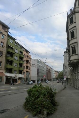 チューリッヒの街