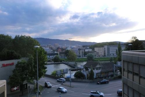 チューリッヒの景色