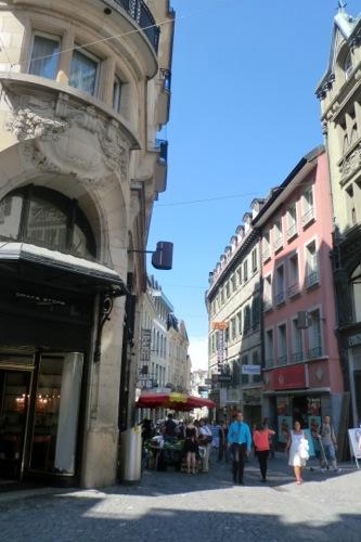 ローザンヌの街