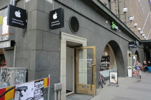 ヘルシンキのアップルストア
