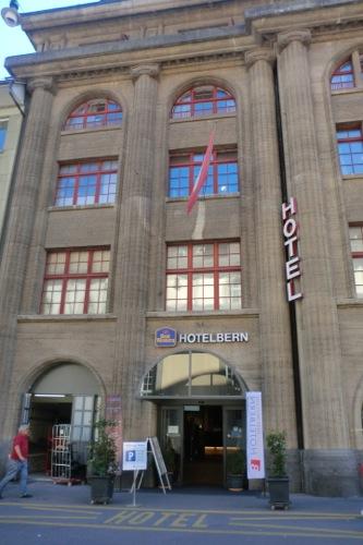 スイス ベルンのホテル Best Western Hotel Bernに泊まった感想