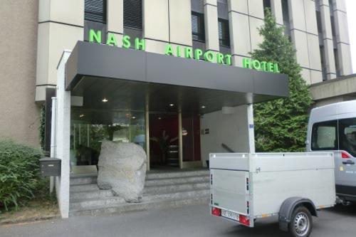 スイス ジュネーブのホテル Nash Airport Hotelに泊まった感想
