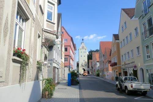 メミンゲンの街