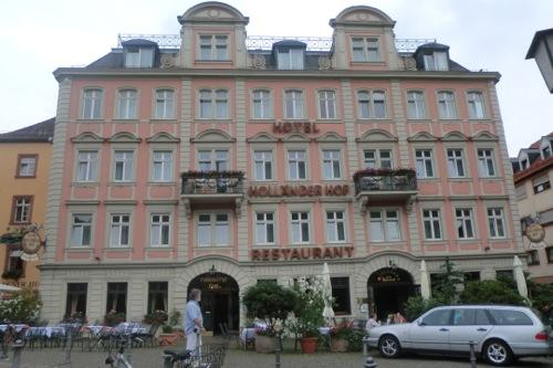 ドイツ ハイデルベルグのホテル Holländer Hofに2日泊まった感想