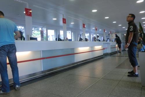 ハイデルベルグ DB切符窓口