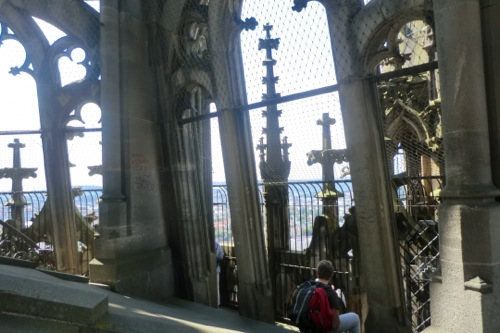 ウルム大聖堂の頂上直前