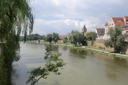 ドナウ川の景色