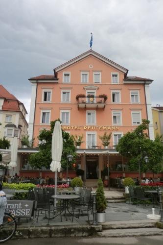 リンダウのホテル