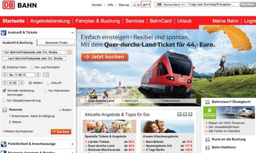 ドイツ旅行初心者のためのドイツ鉄道利用法