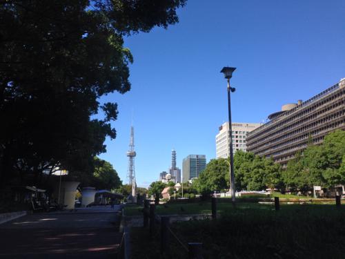 名古屋 栄のテレビ塔