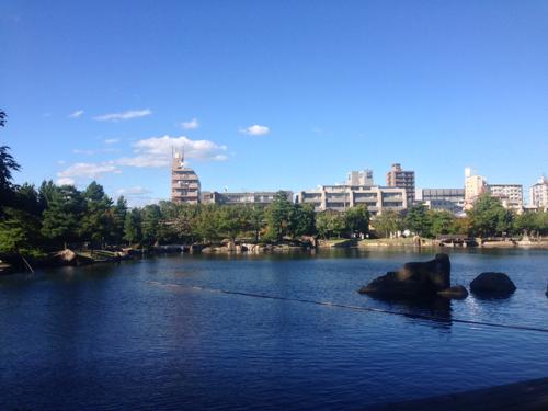 徳川園の絶景