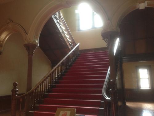 旧庁舎内部