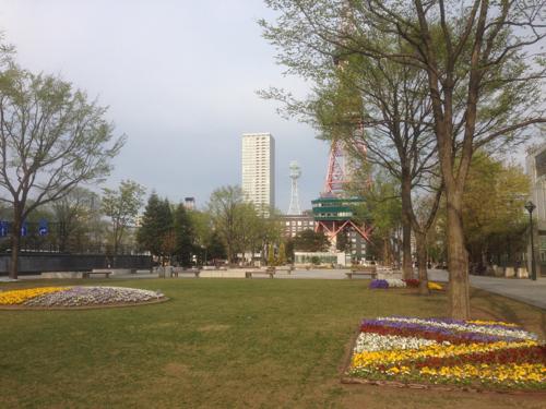 北海道旅行2日目、札幌の街を気ままに歩く
