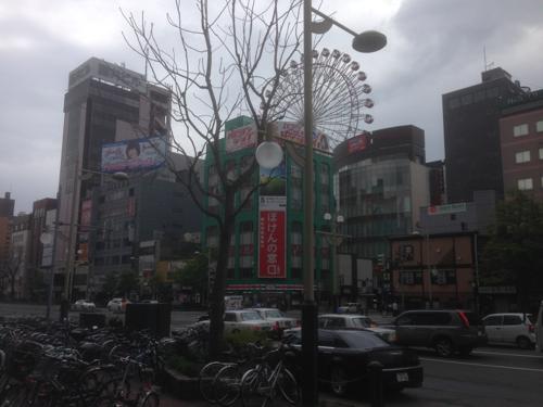 北海道三日目、すすきのを観光