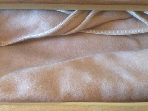 備品の毛布