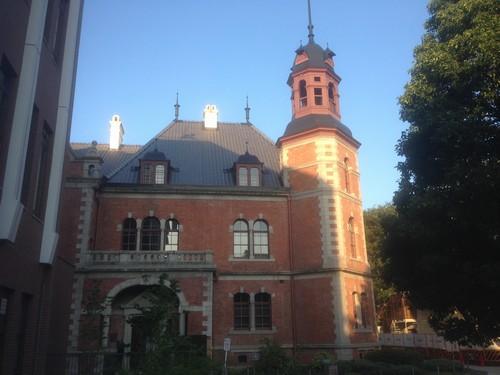 同志社の重要文化財の建物