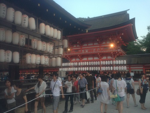旧友達と再会、大阪・京都に1日観光へ