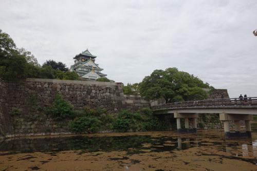 大阪2日目、大阪城と神戸を観光
