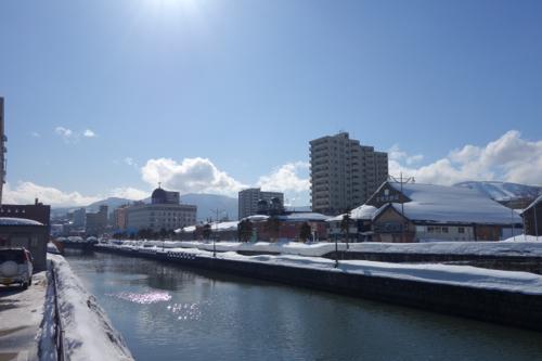 今日は憧れの雪の小樽へ。2015年2月札幌出張2日目