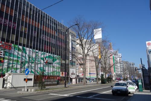 「思いったら即行動」の短所を実感。2015年3月札幌滞在2日目