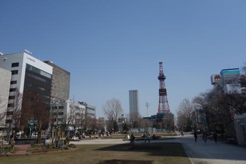 ときには海を眺めて時間の流れに身を委ねる。2015年4月札幌滞在5日目