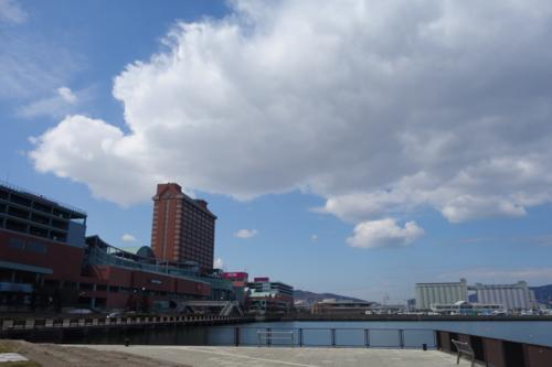 やっぱり海は広い。2015年4月札幌滞在12日目