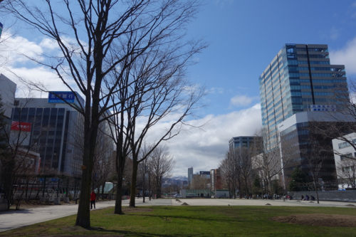 北の大地に春が着々と近づく。2015年4月札幌滞在14日目