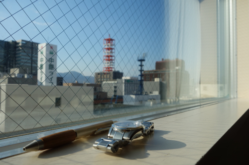 札幌のホテルから