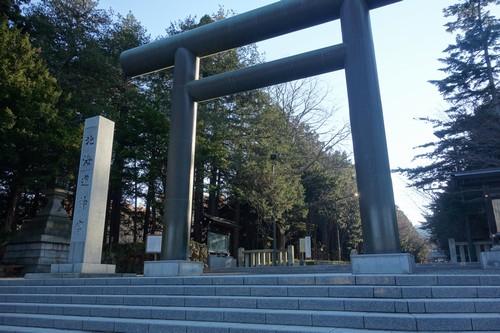 北海道神宮入り口
