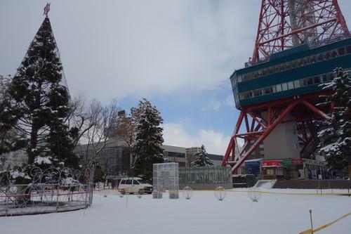 テレビ塔前