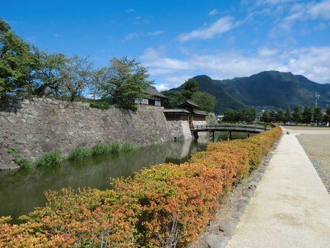 松代城の堀