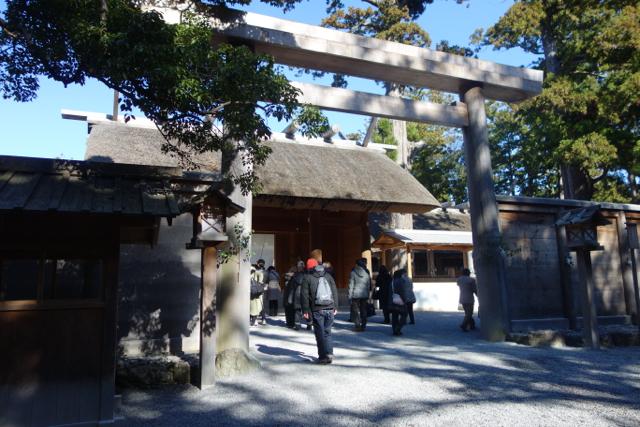 外宮奥の神社