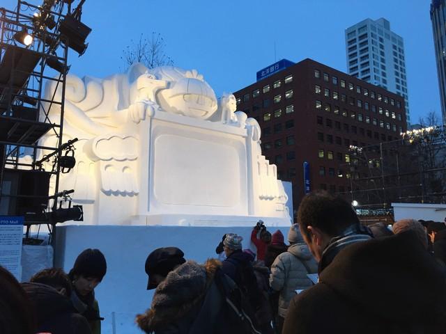 雪のオブジェ2