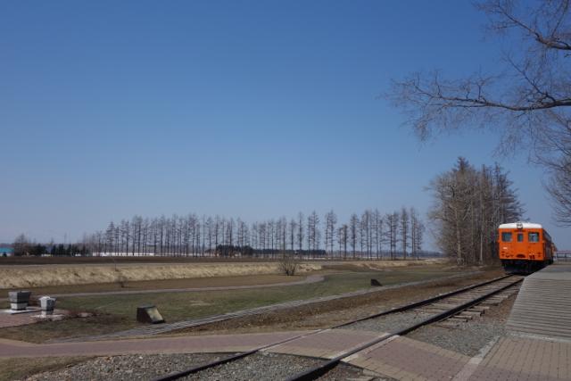 幸福駅周辺の景色