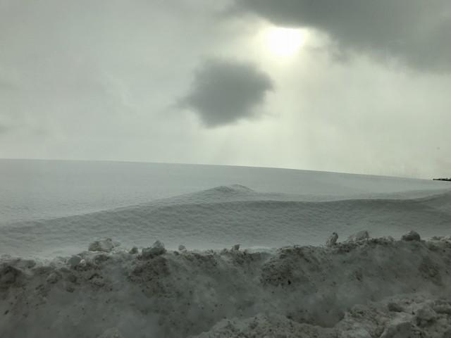羊ヶ丘展望台入り口から