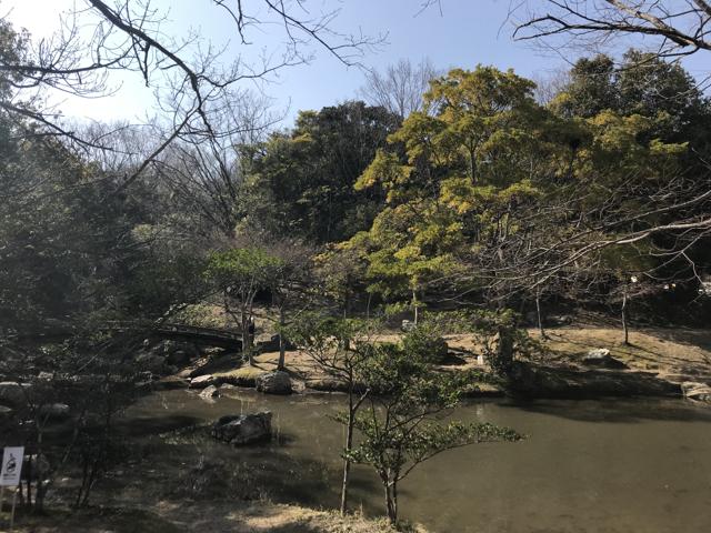 浜松城公園の池