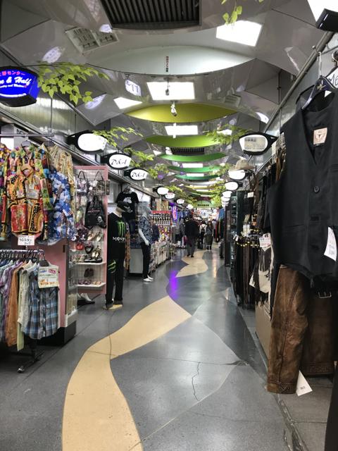 上野→御徒町の商店街