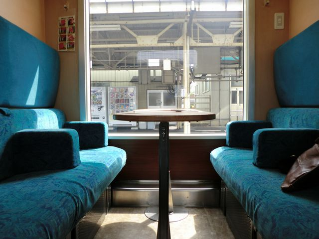 五能線の特別列車個室
