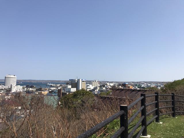 稚内市全景