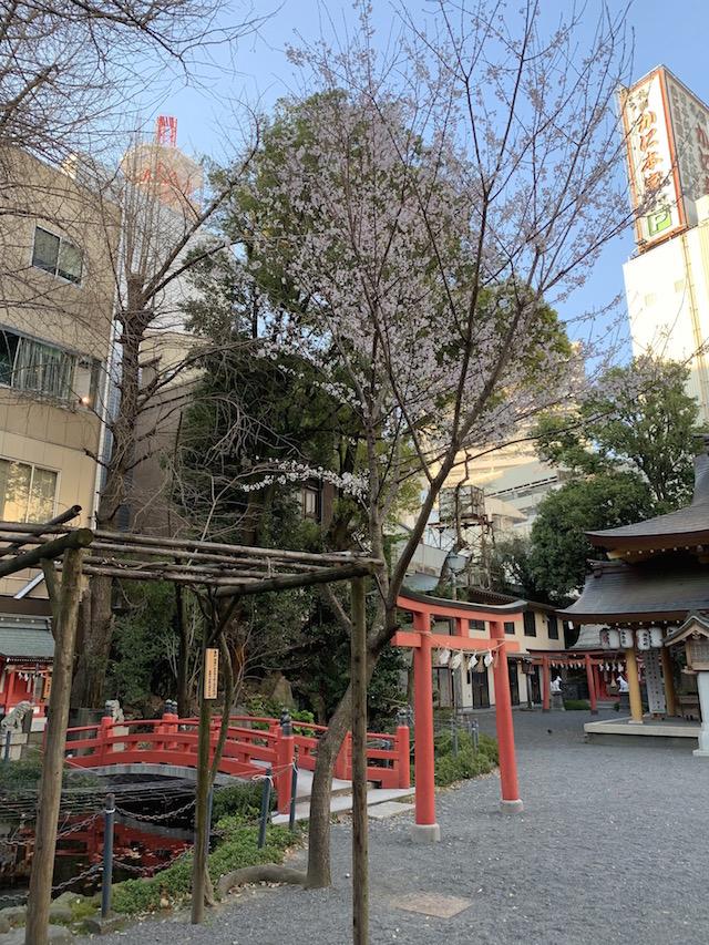 呉服町近くの神社