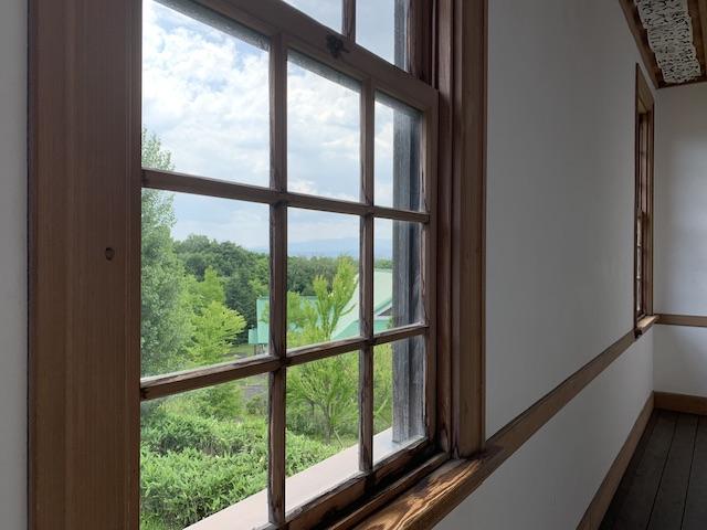 窓から見える絶景