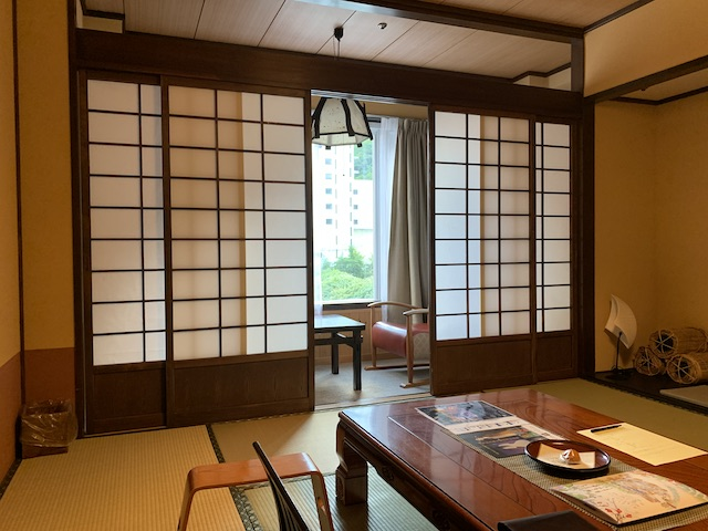 和室の部屋